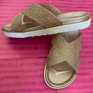3 for $15 BNWT Rose Gold Sandals